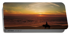 Sunset Ride Portable Battery Charger