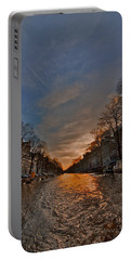 Sunset Ripples Portable Battery Charger