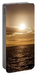 Sunset Sailboat Portable Battery Charger