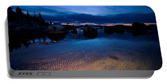 Sunset Sand Ripples Portable Battery Charger