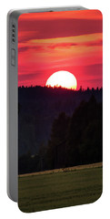 Sunset Scenery Portable Battery Charger