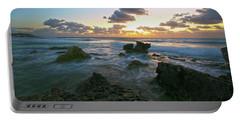 Sunset Seas Portable Battery Charger by Robert Och