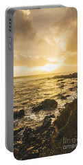 Sunset Seascape Portable Battery Charger