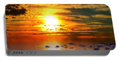 Sunset Shoreline Portable Battery Charger