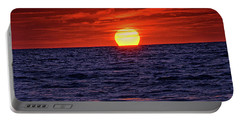 Sunset Siesta Key Florida Portable Battery Charger