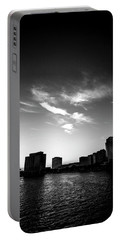 Portable Battery Charger featuring the photograph Sunset Silhouette by Eric Christopher Jackson