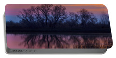 Sunset Silhouettes Portable Battery Charger