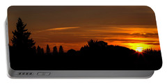 Sunset Silhoutte Portable Battery Charger