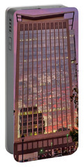 Sunset Skyscraper Portable Battery Charger