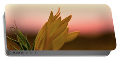 Sunset Sunflower Portable Battery Charger