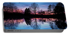 Sunset Symmetry Portable Battery Charger