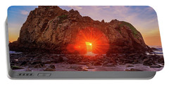 Sunset Through  Portable Battery Charger