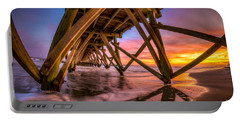 Sunset Under The Pier Portable Battery Charger