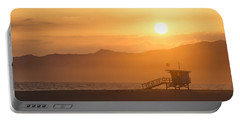 Sunset Venice Beach  Portable Battery Charger