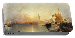 Sunset Venice Portable Battery Charger