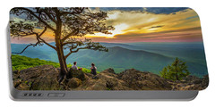 Sunset View At Ravens Roost Portable Battery Charger