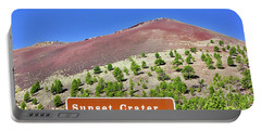 Sunset Crater Volcano Portable Battery Charger
