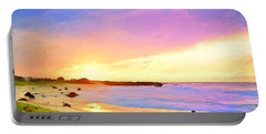 Sunset Walk Portable Battery Charger by Dominic Piperata