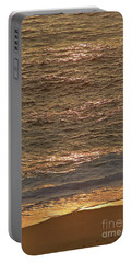 Sunset Waves Over Carmel Beach Portable Battery Charger