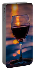 Sunset Wine Portable Battery Charger