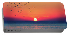 Sunset Wishes Portable Battery Charger