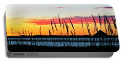 Sunsets Colors Portable Battery Charger by Elsa Marie Santoro