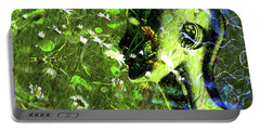 Portable Battery Charger featuring the photograph Sunshine And Daisies by LemonArt Photography