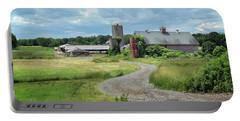 Sunshine Dairy Farm, Newbury, Ma Portable Battery Charger