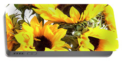 Sunshine Sunflowers Portable Battery Charger