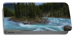 Sunwapta Falls Jasper National Park Alberta Canada Portable Battery Charger