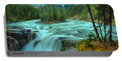 Sunwapta Falls Spring Flow Portable Battery Charger