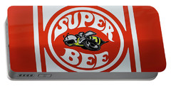 Portable Battery Charger featuring the photograph Super Bee Emblem by Mike McGlothlen