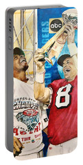Super Bowl Legends Portable Battery Charger