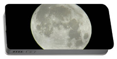 Super Moon 2016 Portable Battery Charger by Kelly Awad