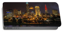 Super Moon 2016 Over Cleveland Portable Battery Charger