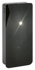 Super Moon 3 Portable Battery Charger by Karen Nicholson