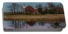 Super Moon And Barn Series #1 Portable Battery Charger