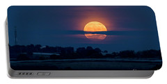 Portable Battery Charger featuring the photograph Super Moon by Arik Baltinester