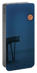 Super Moon Contre Nuit Portable Battery Charger