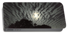 Super Moon Portable Battery Charger by Irma BACKELANT GALLERIES