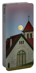 Super Moon Rising Portable Battery Charger