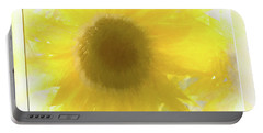 Super Soft Sunflower Portable Battery Charger