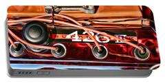 Super Stock Ss 426 IIi Hemi Motor Portable Battery Charger by Gordon Dean II