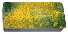 Superbloom Golden Yellow Portable Battery Charger