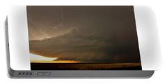 Supercell In Kansas Portable Battery Charger