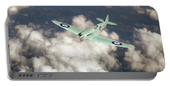 Portable Battery Charger featuring the photograph Supermarine Spitfire Prototype K5054 by Gary Eason