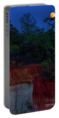 Supermoon Over Providence Canyon Portable Battery Charger