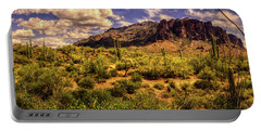 Superstition Mountain And Wilderness Portable Battery Charger