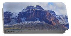 Superstition Mountain Snowfall Portable Battery Charger