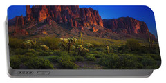 Superstition Mountain Sunset Portable Battery Charger